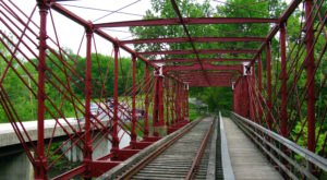 The Unique Bollman Truss Railroad Bridge In Maryland Is The Only One Of Its Kind In The US