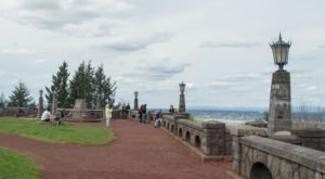 Bring Your Camera Along When You Take In The Views Atop Rocky Butte In Oregon