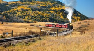 Climb Aboard A Gorgeous Vintage Train And Take A Ride Back Through History In New Mexico