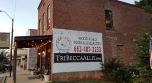 For A Slice of The Most Flavorful Pizza Around, Visit TriBecca Allie Café, Voted Mississippi's Best Pizza Restaurant