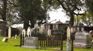 Take A Peaceful Stroll And A Journey Back To The 1800s At Mississippi's Old Biloxi Cemetery