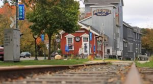 Now A Charming Restaurant Right On The Tracks, Off The Rail Café Is Housed In A Historic Wisconsin Train Depot