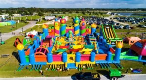 The World's Largest Bounce House Is Heading To Northern California This Spring