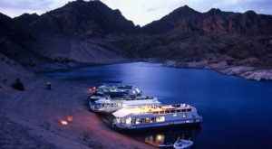 This Summer, Take A Nevada Vacation On A Floating Houseboat On Lake Mead