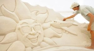 Watch As Sand Becomes Beautiful Art In Front Of Your Eyes At The Pier 60 Sugar Sand Festival In Florida