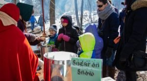Venture Just Beyond The City Of Buffalo To Enjoy This Nearby Maple Festival