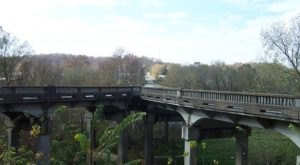 The Unique Y-Bridge In Galena Is The Only One Of Its Kind In Missouri