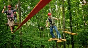 Try Zip Lining, Rock Climbing, Obstacle Courses, And More At This One Alabama Park
