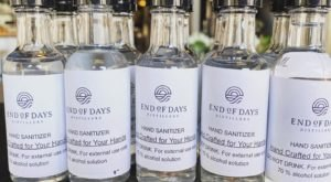 The End Of Days Distillery In North Carolina Is Now Making Hand Sanitizer For Locals Instead Of Vodka