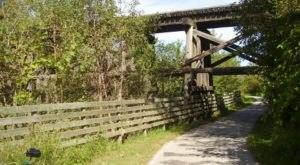 Iowa's Sauk Rail Trail Is A Scenic Trek That Takes You Between Two State Parks