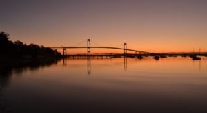 The Tallest, Most Impressive Bridge In Rhode Island Can Be Found On Narragansett Bay