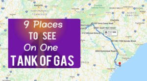 9 Amazing Places You Can Go On One Tank Of Gas In South Carolina