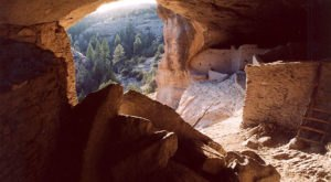 You Can Find A Fascinating 700 Year-Old Archaeological Site At Gila Cliff Dwellings National Monument In New Mexico