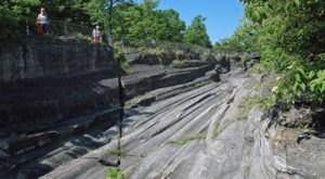 The Glacial Grooves On Kelleys Island Near Cleveland Look Like Something From A Different World