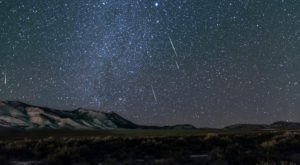 Surges Of Up To 100 Meteors Per Hour Will Light Up The Utah Skies During The 2020 Lyrid Meteor This April