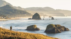 Cannon Beach In Oregon Was Named One Of The 100 Most Beautiful Beaches In The World