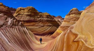 The Wave Is An Otherworldly Destination On The Utah Border