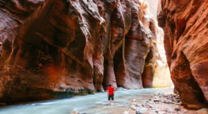 The Zion Narrows Trail Is One Of America's Best Trails, But It's Not For Everyone