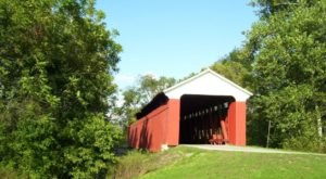 Scipio Covered Bridge In Indiana Is A Small Town Gem Worthy Of A Visit