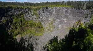 The Pit Craters In Hawaii Volcanoes National Park Look Like Something From Another Planet