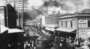 Not Everyone Knows That The Great Chinatown Fire Of 1900 Was The Result Of The Bubonic Plague In Hawaii