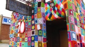 Don't Miss This Building-Sized Yarn Bomb In Northwest Arkansas