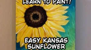 Show Your Kansas Spirit With This Easy Step-By-Step Sunflower Painting Tutorial