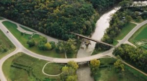 Follow Minnesota's Red Jacket Trail To Cross An Old Railway Bridge And Take In Lovely Views