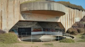 Hike To A World War II-Era Bunker On The Trek To Battery Townsley In Northern California