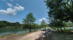 Camp Right On Turquoise Water At The Little Known Dog Creek Campground In Kentucky