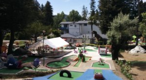 First Opened in 1948, Pee Wee Golf In Northern California Makes For A Wacky Family Outing
