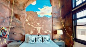 Visit Moab, Utah To Find This Airbnb That Features Its Own Climbing Wall