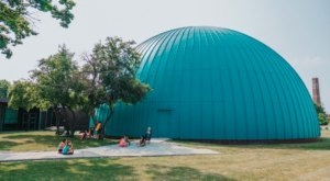 You're In For A Blast At Longway Planetarium, The Largest Of Its Kind In Michigan