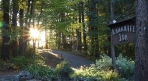 Tucked Away Between A Forest and Lake, Maine's Kawanhee Inn Restaurant Is A True Hidden Gem