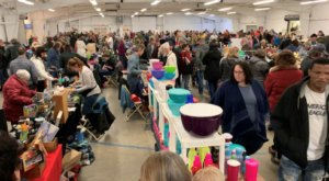 At This Gigantic Flea Market In Vermont, You'll Find Crafts, Antiques, And Much More