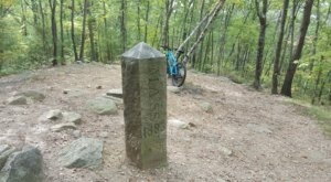 You Can Hike To Where Three States Meet On The Tri-State Marker Trail In Massachusetts