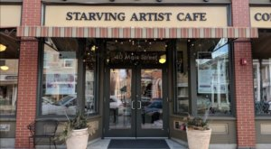 Get Creative With Beauitful Crepes At Starving Artist Cafe And Creperie In Massachusetts