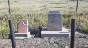There's An Odd Grave Marker On The Side Of A Wyoming Highway That's Worth A Visit