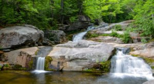 Take An Easy Out-And-Back Trail To Enter Another World At Step Falls Preserve In Maine