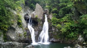 See The Tallest Waterfall In Massachusetts At Bash Bish Falls State Park