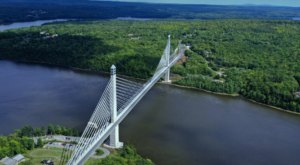 The Tallest, Most Impressive Bridge In Maine Can Be Found In The Town Of Prospect