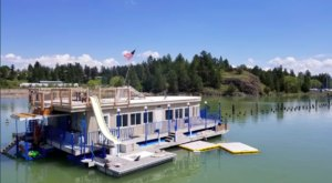 This Summer, Take A Montana Vacation On A Floating Villa On Flathead Lake