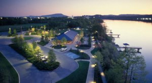 Taking A Quiet Walk Along The Tennessee Riverwalk in Chattanooga Makes Social Distancing Easy