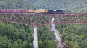 The Tallest, Most Impressive Bridge In Tennessee Can Be Found In The Town Of Helenwood