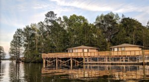 You'll Have A Front Row View Of South Carolina's Inland Sea At These Cozy Cabins