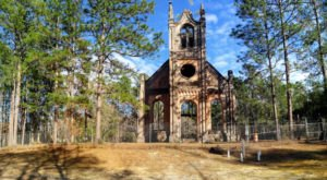 Visit The Ruins Of Old Gunn Church In South Carolina And You Just May Feel A Chill Go Up Your Spine