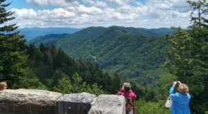 Stand In 2 States At Once Or Maybe Even Hike The Appalachian Trail At Newfound Gap Overlook In North Carolina