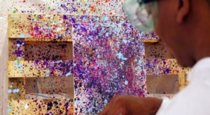 Visit Splatter Room In Georgia For A Colorful Night Of Creative Fun