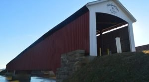 The Oldest Covered Bridge In Indiana Has Been Around Since 1875