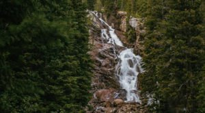 Take An Easy Loop Trail To Enter Another World At Hidden Falls In Wyoming